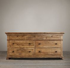 St. James Sleigh Bedroom Collection- Antiqued Natural | RH
