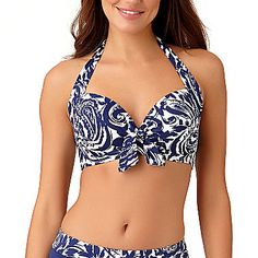 fbdd19188e Buy Liz Claiborne Floral Bra Swimsuit Top at JCPenney.com today