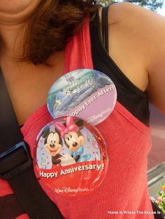 We're celebrating our anniversary at Disney World this year ... so I was really happy to discover this article on how another couple did it!  ~~ Celebrating our Anniversary, Disney Style! | Home is Where the Mouse is