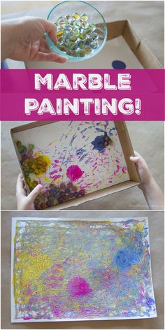 Marble Painting! | T