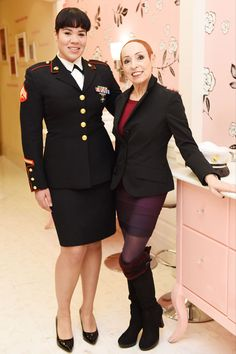 This Is What A Makeover Means To A Female Veteran -- In post-duty life, women face a different host of challenges than their male counterparts. One initiative, Operation Reinvent, is partnering with Benefit Cosmetics to offer a new kind of support.