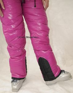 Crazy Sensations Down Suit, Bib Overalls, Snow Pants, Puffer Jackets, Sunnies, Parachute Pants, Jackets For Women, Womens Fashion, How To Wear