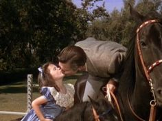 """""""Gone With the Wind"""": Clark Gable/Rhett Butler & daughter, Bonnie Blue Butler, played by Cammie King. Go To Movies, Old Movies, Great Movies, Classic Hollywood, Old Hollywood, Wind Movie, Rhett Butler, Romance Film, Tomorrow Is Another Day"""