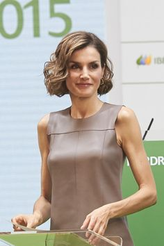 Queen Letizia of Spain attends the Iberdrola Foundation Scholarships at the Casa de America on July 9, 2015 in Madrid, Spain.