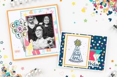 Party Time: Jeanette's Birthday Giveaway! | Make It from Your Heart Birthday Messages, Birthday Cards, Birthday Party Decorations Diy, Heart Party, Close To My Heart, Sympathy Cards, Scrapbooking Layouts, Party Time, Cardmaking