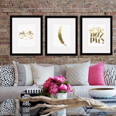 Wall Art, Foil Prints Decorate spaces