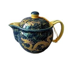 Golden Dragon Porcelain Teapot, China Tea Kettle Gift for Friend Panda Superstore http://www.amazon.com/dp/B00MYP3OZM/ref=cm_sw_r_pi_dp_hNChvb0HAH2TC