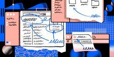 Designing with real data - Dropbox Design - Medium Kinetic Type, What Web, Ui Design, Web Development, Digital Illustration, Digital Marketing, Writing, This Or That Questions, Desktop