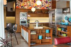 Mid-century modern kitchen renovation