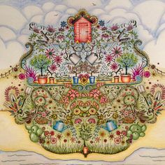 Take A Peek At This Great Artwork On Johanna Basfords Colouring Gallery Secret Garden Coloring BookAdult