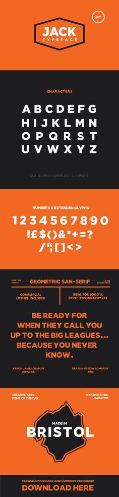 JACK Font on Typography Served