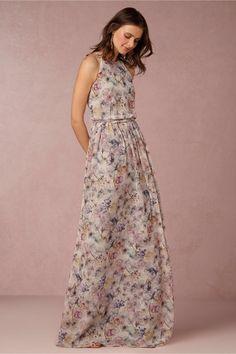 Vestido de noiva floral