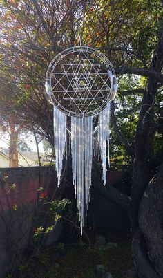Hey, I found this really awesome Etsy listing at https://www.etsy.com/listing/265575376/big-sacred-geometry-dream-catcher Truc Cool, Giant Dream Catcher, Big Dream Catchers, Beautiful Dream Catchers, Sri Yantra, Diy Art, Bad Dreams, Sweet Dreams, Tattoo Pics