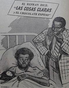 """El tono risueño para la presentación del chocolate blanco de la firma """"Águila""""."""