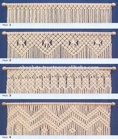 Sale Handmade Offer Choice Home Decortive Gift Macrame Wall Hanging Macrame Design, Macrame Art, Macrame Projects, Macrame Knots, Macrame Curtain, Macrame Plant Hangers, Micro Macramé, Macrame Patterns, Weaving