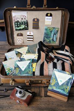 Packing a suitcase can get creative. #Explore #SummerResolutions