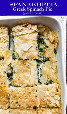 spinach pie recipe food greek spinach pie food spinach pie rh pinterest com