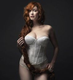 Christina Hendricks-she is beautiful. great role model for curvy women.