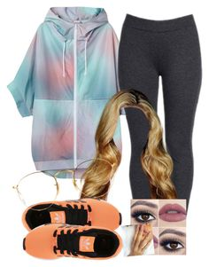 """""""."""" by trillest-queen ❤ liked on Polyvore featuring Monki, NYDJ, adidas Originals and Ray-Ban"""