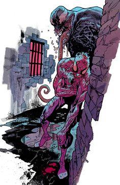 Spider-Man and Venom by James Harren