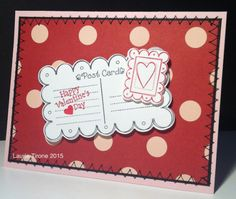 I Spy YNS Saturday  Valentine Mail : Your Next Stamp Small Postcard stamp and die set  #yournextstamp