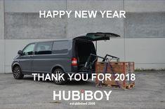 HAPPY NEW YEAR Wir wünschen euch erst einmal einen guten Rutsch ins 2019, tolle Partys und ein gesundes, liebevolles und erfolgreiches neues Jahr 2019. Danke für 2018. Das HUBiBOY TEAM Pickup Trucks, Partys, Happy New Year, Commercial Vehicle, Thanks, Amazing, Happy Year, Happy New Year Wishes, Ram Trucks