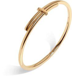 Aurate Crossover Bracelet - Rose - - M/L Gold Ring Designs, Gold Bangles Design, Gold Jewellery Design, Gold Jewelry, Mens Gold Bracelets, Gold Bracelet For Women, Gold Bangle Bracelet, Solid Gold Bracelet, Baby Bracelet