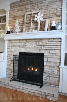 Reface Brick Fireplace
