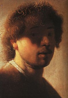 Self-portrait -Rembrandt