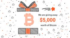 $5,000 Worth of Bitcoins in Free Giveaways  #tadaawl_giveaways #cryptocurrency #bitcoin #bitcoins #btc #giveaways