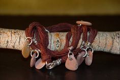 Nature's Candy warrior wrap by alccreations on Etsy, $95.00