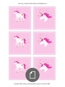 Unicorn_Pin the Horn on the Unicorn_13X19