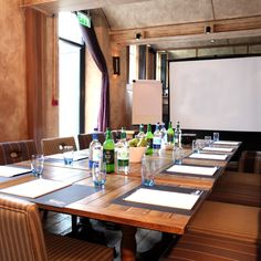 Meeting Room Setup Idea: Oxford Malmaison