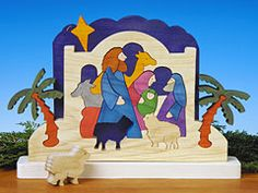 Standing Nativity Puzzle