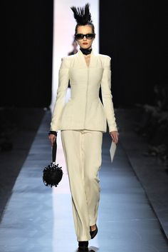 Jean Paul Gaultier Spring 2011 Couture Fashion Show - Frida Gustavsson