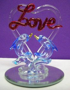 Hand Blown Glass Figurines 1