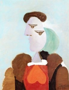 Portrait of a Woman in a Fur Coat - Pablo Picasso - The Athenaeum