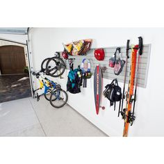 Flow Wall 24-root Deluxe Sports Storage System | Overstock.com Shopping - Great Deals on Flow Wall Systems Garage Storage