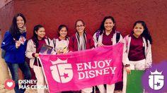 Las chicas de Córdoba de Nuestra Señora de la Merced están más cerca de su sueño! #Disney!!!  Con el #promoteam2016 de #Eenjoy15 #Transatlántica