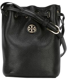 768c9f0d657 Brody ~only Pay with Code~ Mini Bucket Crossbody Black Leather Shoulder Bag
