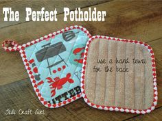 the perfect potholder