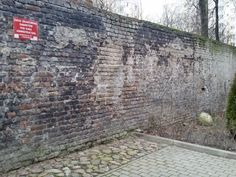 last remaining piece of ghetto wall in Warsaw