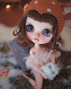 Ooak Dolls, Blythe Dolls, Girl Dolls, Baby Dolls, Cheap Dolls, Cute Hats, Custom Dolls, Doll Clothes Patterns, Funny Art