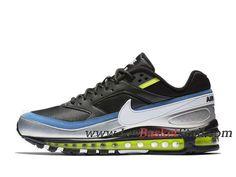 promo code 15cd6 ba7a0 Running Nike Air Max 97 BW Chaussures Nike Officiel 2019 Pas Cher Pour Homme  Noir Bleu