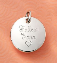 Valentines Collection 2016 - Engravable Charm #JamesAvery