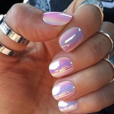 Image result for opal purple nails