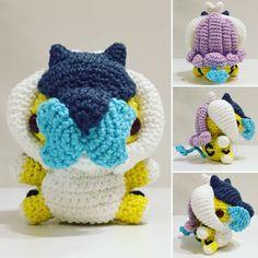 Raikou häkeln / crochet by julygurumi. Follow me on Instagram for more!