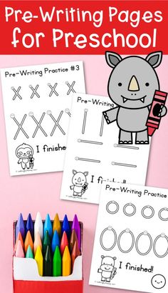 "I recently received an email from a preschool special needs teacher: ""I stumbled upon your pre-writing sheets today and love them! However, I teach special education for little ones and hoped( if time allows) that you could edit these to make the prewriting strokes much larger- at least double."" I thought: Wow. Nine years later …"
