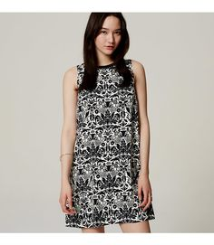 Petite Palace Floral Shift Dress - $79.50