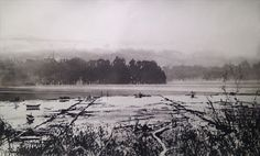 RA Summer Exhibition 2017 work 623: 623 - THE STOUR IN WINTER by Norman Ackroyd RA, £960. #RASummer